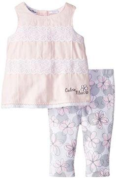Calvin Klein Baby-Girls Newborn Tunic with Eyelet Trim and Printed Leggings, Pink, 0-3 Months Calvin Klein http://www.amazon.com/dp/B00NNPV33W/ref=cm_sw_r_pi_dp_gs6Yub1N1QA97