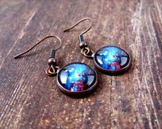 Space Sparkle Earrings  #beautiful #instafav #bestgiftever