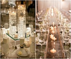 43 Mind-Blowingly Romantic Wedding Ideas with Candles   http://www.deerpearlflowers.com/43-romantic-wedding-ideas-with-candles/