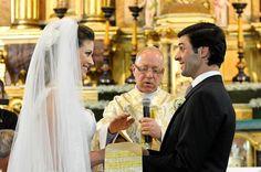 Olhar dos noivos.