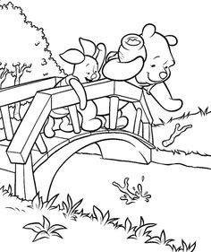 Cute Winnie The Pooh Coloring Pages Ideas For Children - Free Coloring Sheets Summer Coloring Pages, Bear Coloring Pages, Free Coloring Sheets, Cartoon Coloring Pages, Coloring Pages For Kids, Coloring Books, Kids Coloring, Disney Princess Coloring Pages, Disney Princess Colors
