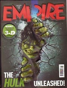 EMPIRE Magazine(UK)- June 2008 - The Hulk Unleashed! 3D cover