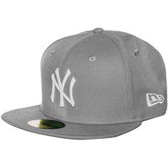 59FIFTY MLB Basic New York Yankees Cap    Diese klassische Basecap ist seit Jahren eine der angesagtesten in ihrem Segment und wird nicht nur von Baseball-Fans heftig umworben.     Ein aufgesticktes Teamlogo vorne bringt deine Zugehörigkeit zu den New York Yankees zum Ausdruck. Die Cap ist hinten geschlossen und präsentiert sich in verschiedenen Größen, damit auch für jede Kopfform etwas dabei ...