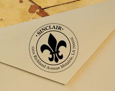 Self Inking Return Address Stamp Personalized by ClaybyrneStamp