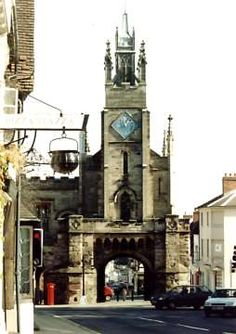 Eastgate in Warwick  The town of Warwick is situated near the centre of England, 8 miles from Stratford-upon-Avon. Warwick...