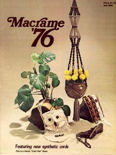Vintage Macrame 76 in instant download version  PDF by Pattern168