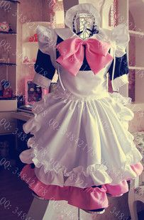 Princess maid's outfit and anime maid 'is a bowknot cosplay costumes clothing