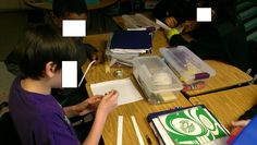 Volume and surface area activity with popcorn.