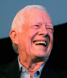 President Jimmy Carter was the featured speaker at the Hotel Jerome last summer as part of the 11th annual ARE Day summit in Aspen.