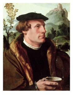 Portrait of a Gentleman by Maarten van Heemskerck (Dutch painter 1498-1574)