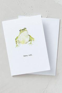 Anthropologie EU Valentine Wishes Card