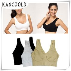 1.52$  Watch more here - KANCOOLD New Fashion Racerback best Bras Tank Cropped Padded Sleeveless May18 Drop Shipping   #buymethat
