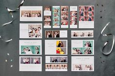 Photo Booth Templates: Modern Minimalist Collection - Design Aglow - 1