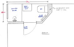 This article shows how ukbathroomguru added an en-suite to an existing bedroom in Ilkley, Leeds. Introduction This is a case study which shows how we can add an en suite to your bedroom in under 2 weeks for around Wall Radiators, Wet Room Flooring, Basin Vanity Unit, Downstairs Toilet, Bathroom Layout, Bathroom Ideas, Bathroom Interior, Bedroom Floor Plans, Room Planning