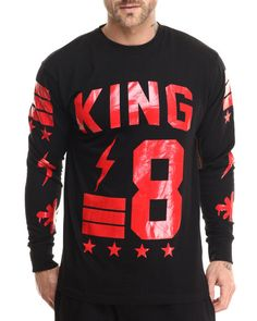 Love this King's Court L/S Tee on DrJays and only for $38. Take 20% off your next DrJays purchase (EXCLUSIONS APPLY). Click on the image above to get your discount.