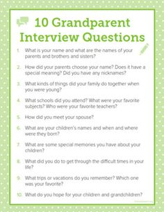 Ideas Family History For Kids Interview Questions For 2019 Legacy Projects, Family History Book, Personal History, Family Genealogy, Genealogy Sites, History Projects, Family Search, Family Memories, School Memories