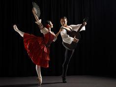 Kristy Corea and Yosvani Ramos in Don Quixote. Photography Jess Bialek