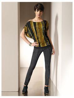 T-shirt imprimé - http://www.helline.fr/T-shirt-imprime/an023786X/HellineFr?ShopID=sh21544982sp10021575903=Outfit-Tipp