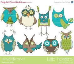 60% OFF Memorial weekend green owl clipart commercial use, vector graphics, digital clip art, digital images, bird clipart, animal clipart via Etsy