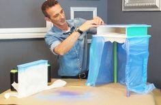 Como pintar um móvel antigo