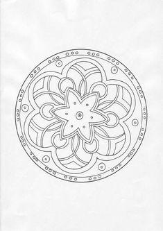 124 Meilleures Images Du Tableau Coloriages Mandala En