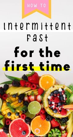 Start intermittent fasting with these 8 intermittent fasting tips to help you with your weight loss goals! #Fasting #IntermittentFasting