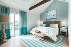 The bedrooms in the brothers' Galveston beach houses were drab and uninviting, to say the least. See how they transformed them into vacation sleep paradises on Brother vs. Brother.