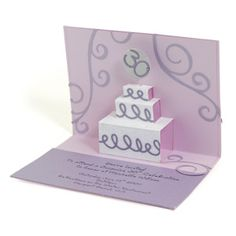 Birthday Cake Pop-Up Card
