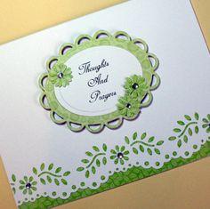 Sympathy Card, Thinking of You Card, Encouragement Card, Blank Greeting Card, Handmade Greeting Card. $4.25, via Etsy.