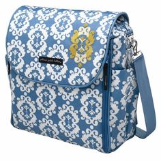 Check Out This Petunia Pickle Bottom Glazed Boxy Backpack In Idyllic Ibiza While Blue Is Typically Thought Of As A Boy Color I Think Very Uni