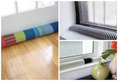 10 DIY Draft Stoppers to Warm Your Home in Style - Sarah Blooms Window Draft Stopper, Door Draught Stopper, Stay Warm, Warm And Cozy, Door Draft, Diy Home Repair, Diy Door, Cozy House, Fun Crafts