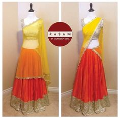 Rasam Sequins Lengha. Follow on Instagram @__rasam__