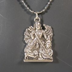 Garuda Pendant w/Silver Ball and Cylinder Necklace Chain #Unbranded #Pendant