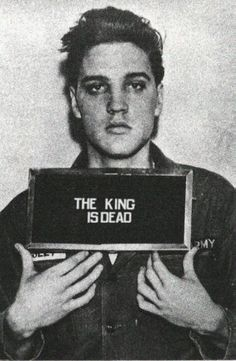 """NATION - """"Father of Rock and Roll"""" Elvis Presley dies of a heart attack. His death reveals the constantly changing nature of the music industry. Elvis Presley, Priscilla Presley, Rock And Roll, Celebrity Mugshots, Celebrity Costumes, Music Rock, Portrait Studio, Marlon Teixeira, Celebrity Gallery"""