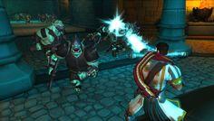 'Orcs must Die' screenshot. Environment details