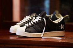 NBHD x adidas Consortium Superstar 80s 10th Anniversary Launch: 7th February 00:01GMT Price: £119.00 http://www.hanon-shop.com/the-blog/nbhd-x-adidas-superstar-80s-10th-anniversary/