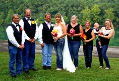 Blue jean wedding Blue Jean Wedding, Jeans Wedding, Wedding Stuff, Wedding Ideas, Jada, Love And Marriage, Wedding Colors, Blue Jeans, Biker