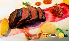 Order the Bife de Chorizo at Bayamo. It's love at first bite! #EmojiTipTuesday