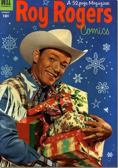 Roy Rogers Christmas comic, 1500 free paper dolls Christmas gifts at Arielle Gabriels The international Paper Doll Society also free China paper dolls The International Paper Doll Society * Vintage Christmas Cards, Retro Christmas, Vintage Holiday, Victorian Christmas, Christmas Comics, Christmas Past, Christmas Cover, Christmas Stars, Christmas Snowman