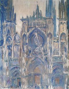 Rouen Cathedral, Study of the Portal - Claude Monet