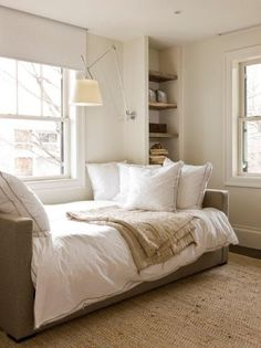 flourish design + style Upholstered daybeds for 3rd floor?