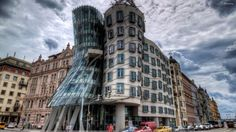 Thé dancing house . Prague