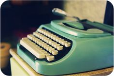 typewriter (not the one you connect to your tablet)