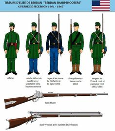 The Berdan's Sharpshooters Civil War Books, Civil War Art, Military Tactics, Union Army, Western Union, Civil War Photos, American Revolution, American Civil War, War Machine