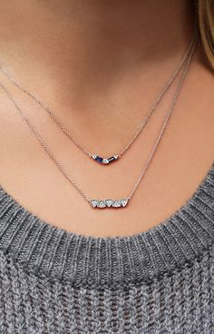 Party of two! Mix & match necklaces for the perfect layers