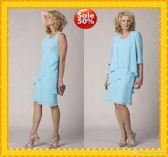 Wholesale Lace Tea Length Plus Size - Buy 2014 Modest Two Pieces Chiffon Sequins Mother of the Bride Groom Pant Suits Suit Dress Plus Size Evening Formal Dresses Gowns For Wedding, $82.78   DHgate