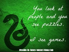 You look at people and you see puzzles. I see games. Elementary - 1X24 - Heroine       *Base by odear-odair