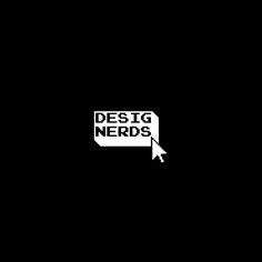 Designerds is logo made for fun. Designed by Artur Denys. Nerd, Logos, Fun, Design, Logo, Otaku, Geek, Hilarious