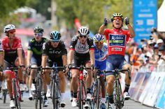 Caleb Ewan takes the final stage at the Tour Down Under