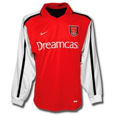 Arsenal 2000-01 Home (Long sleeve)
